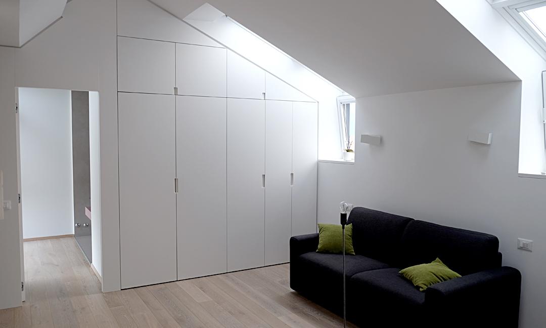 2012 - Sopraelevazione abitazione in Via Campagnola a Zanè