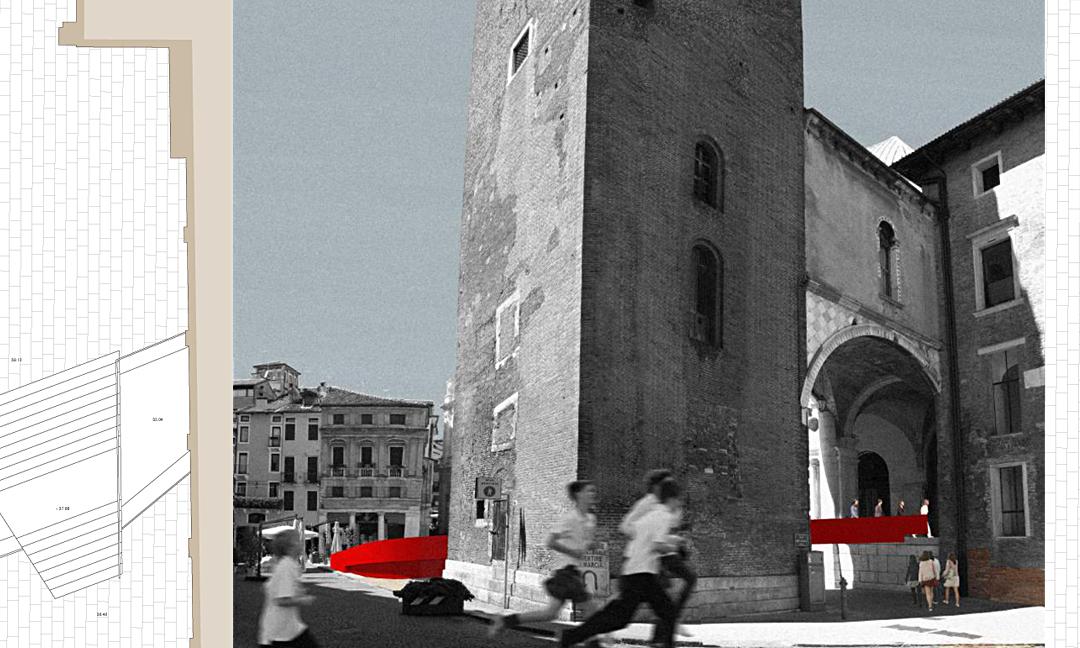 2014 - Riqualificazione Piazza delle Erbe a Vicenza. Concorso - Progetto 1° classificato. Con AB+ (Fichera e Pappalardo)