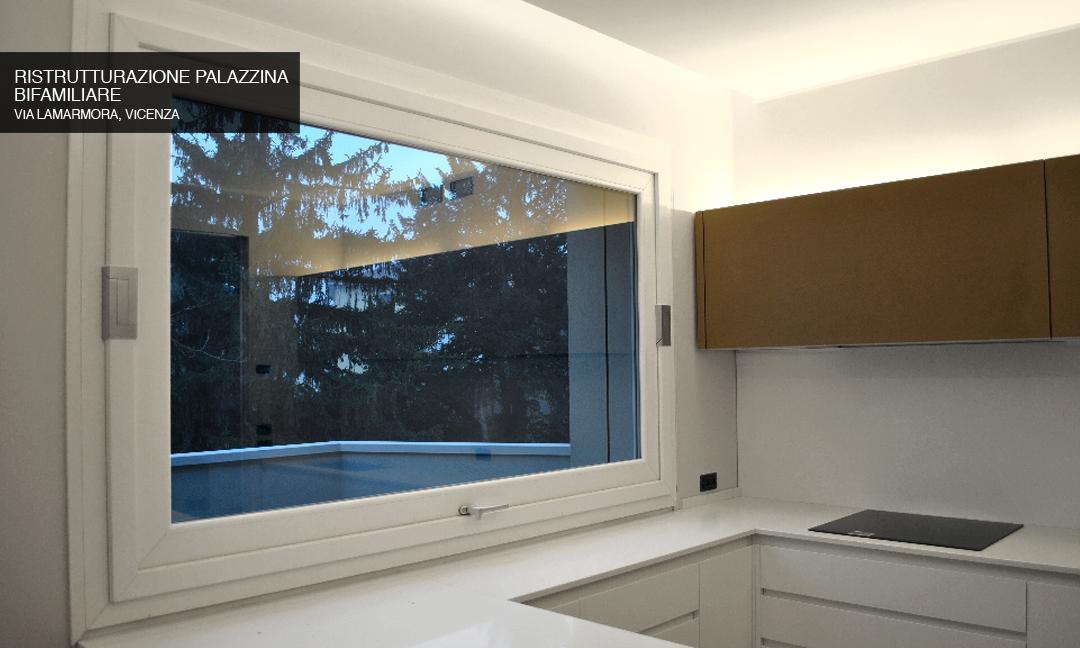 2015 - Ristrutturazione palazzina bifamiliare in Via Lamarmora a Vicenza. Con arch. Irene Cicero