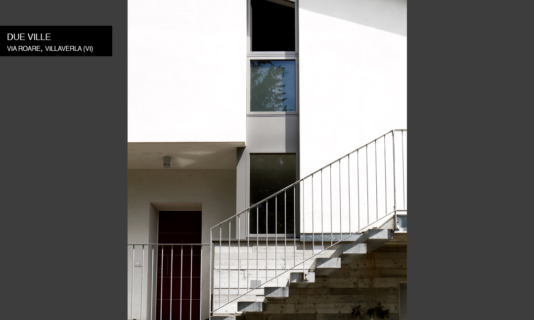 2012 - Due ville in Via Roare a Villaverla (VI)