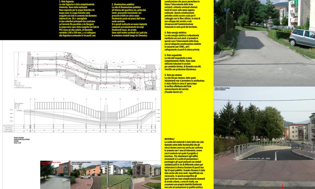 2005 - Riqualificazione quartiere ex INA-Casa di via Cirenaica a Valdagno (VI). APM (Albiero, Faresin, Sbalchiero)