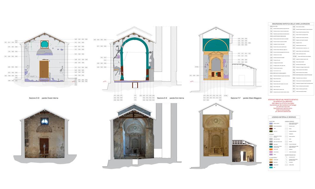 2010 - Restauro Antica Parrocchiale di S. Maria ad uso sala polifunzionale a Nanto (VI). APM (Albiero, Faresin, Sbalchiero)