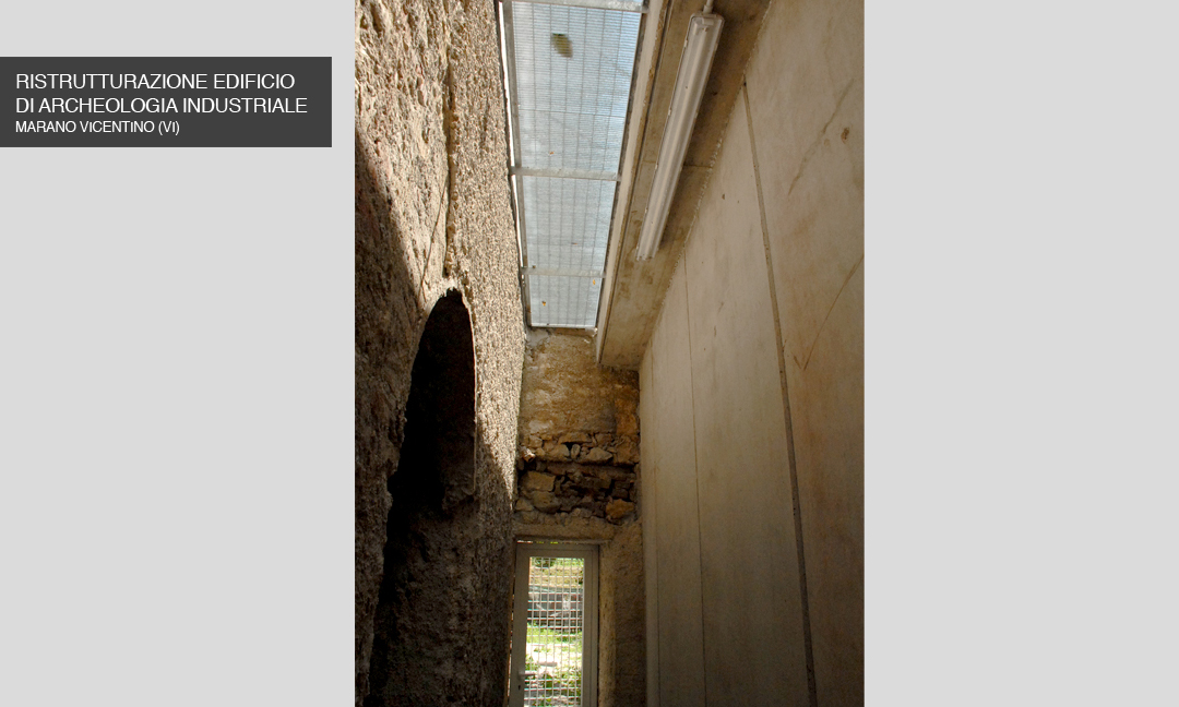 2010 - Ristrutturazione edificio di archeologia industriale a Marano Vicentino (VI). APM (Albiero, Faresin, Sbalchiero)