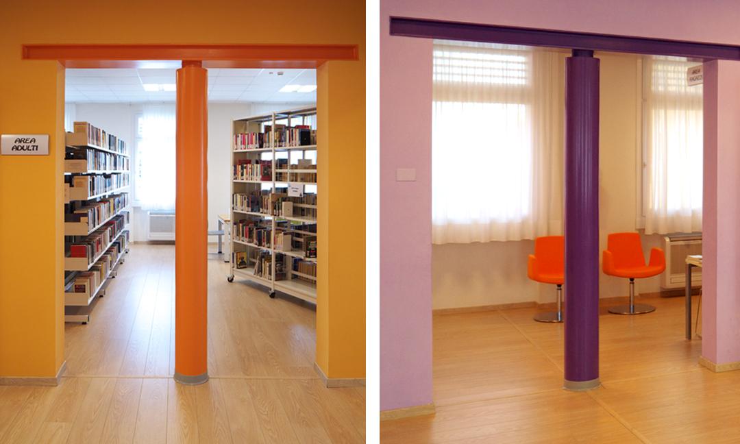 2010 - Ristrutturazione edificio  ex scuole elementari ad uso biblioteca a Carrè (VI). APM (Albiero, Faresin, Sbalchiero)