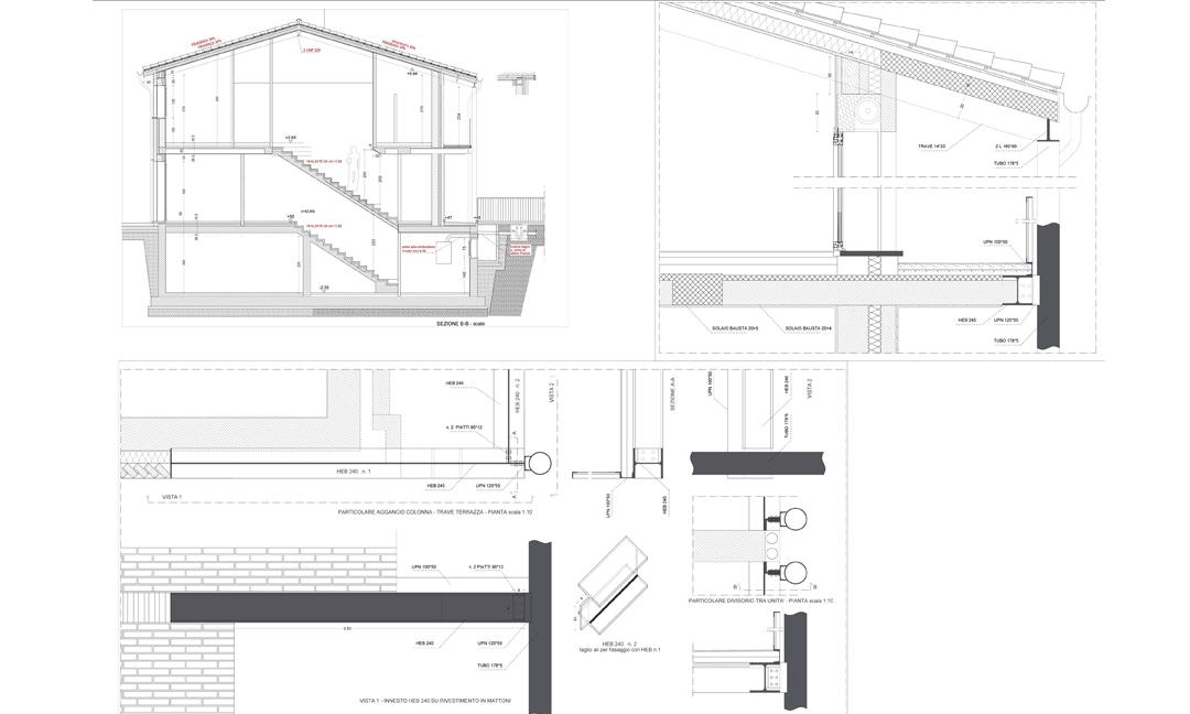 2011 - Costruzione di sei unità bifamiliari a Vicenza località Polegge. APM (Albiero, Faresin, Sbalchiero)