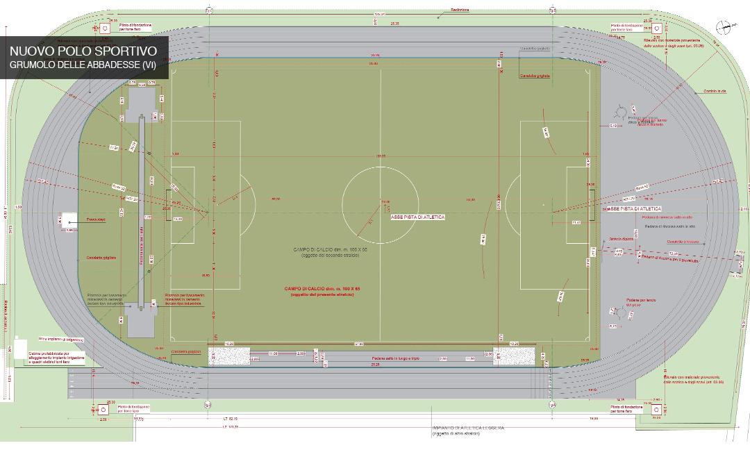 2012 - Nuovo polo sportivo a Grumolo delle Abbadesse (VI). APM (Albiero, Faresin, Sbalchiero)