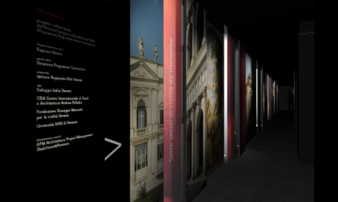 2006 - Museo sulla Civiltà della Villa Veneta. Villa Contarini a Piazzola sul Brenta (PD). Con Mauro Zocchetta e Sbalchiero & Partners